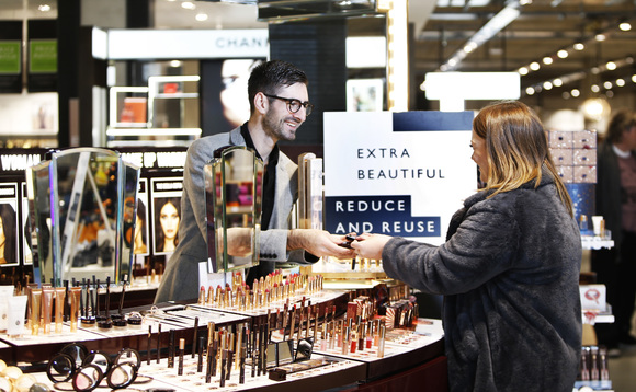 One scheme will encourage customers to return empty beauty product packaging | Credit: John Lewis
