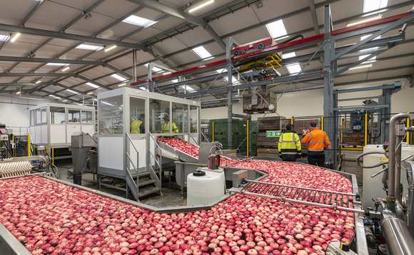 Bardsley England produces around 23,000 tonnes of fruit each year from its 24 sites | Credit: Bardsley England