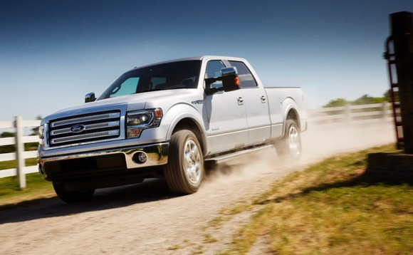 Ford adds rice to F-150 truck mix