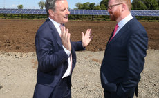 Successful take-off: Private wire solar farm credited with saving Belfast Airport £100,000
