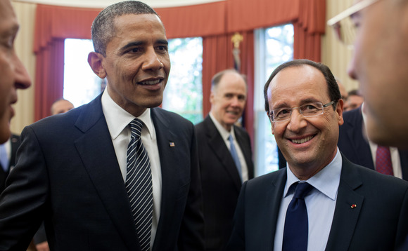 Obama and Hollande pledge joint climate action