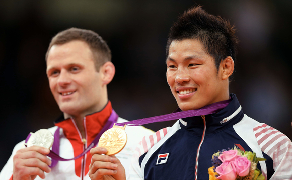 Medal winners at the 2012 Olympic Games in London | Credit: Republic of South Korea