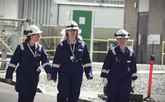 Women make up less than 20 per cent of the energy sector workforce