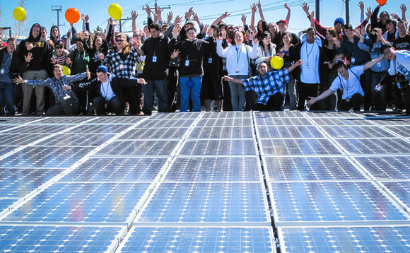 Solar panels powering classrooms for 2.7 million US students