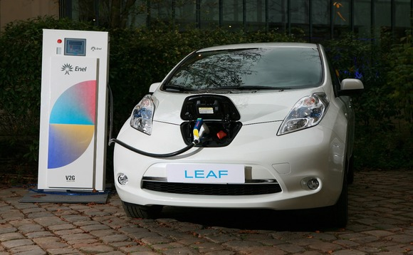 Nissan gears up to install world's largest electric vehicle power system