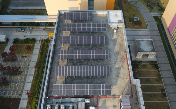 According to the IEA installations such as this solar array on a Samsung factory roof are set to multiply