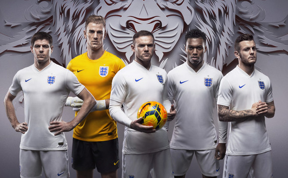 England unveil green World Cup strip made from recycled bottles