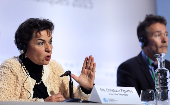 Christiana Figueres: 'Together we have opened the door to a sustainable and climate-safe future for all'