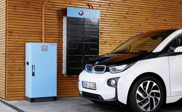 BMW follows Nissan into home energy storage market