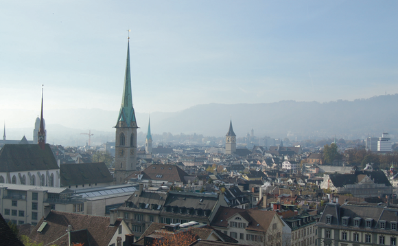 Zurich, Switzerland, where the global insurer is based