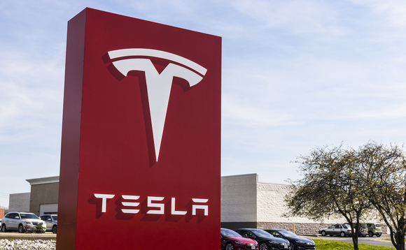 Tesla's valuation soared on the US stock market this week
