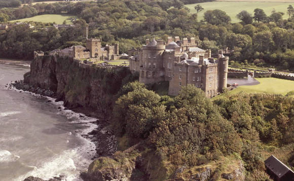 Culzean Castle is one of many historic buildings in Scotland under threat from climate change