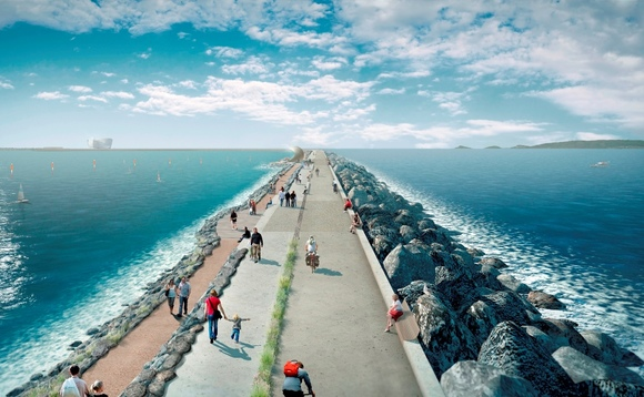 Tidal lagoon power 'could be competitive with gas', study suggests