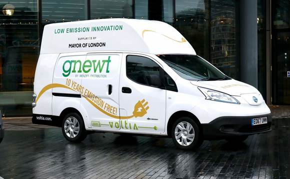 Gnewt: celebrating 10 years of zero carbon deliveries