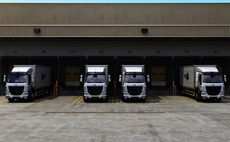 A delivery fleet refuels | Credit: ChargePoint