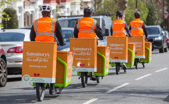 Electric cargo bikes are now delivering groceries across South London