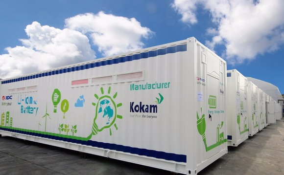 South Korea set to deploy 36MW energy storage system