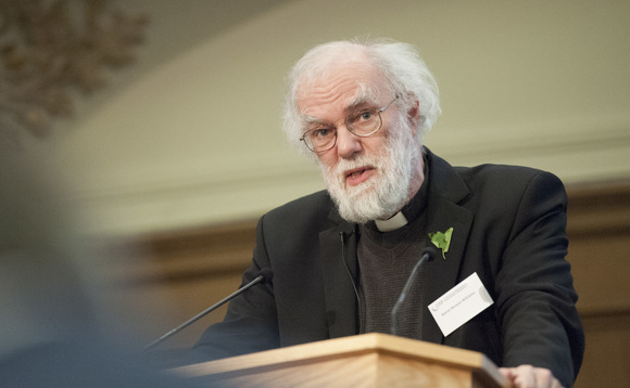 Rowan Williams: Businesses are waking up to climate change
