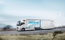 Volvo concept trucks cut fuel by a third