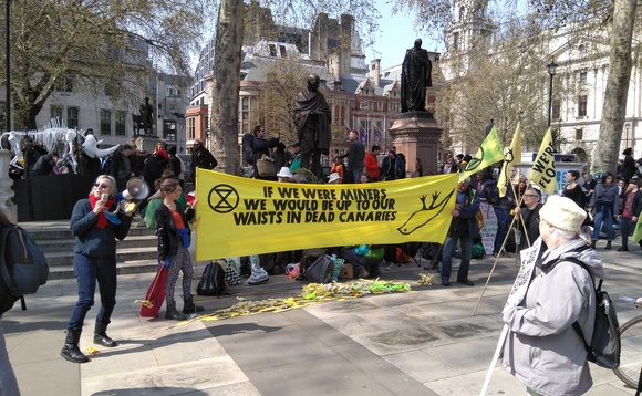 XR Business: Green business leaders rally in support of Extinction Rebellion
