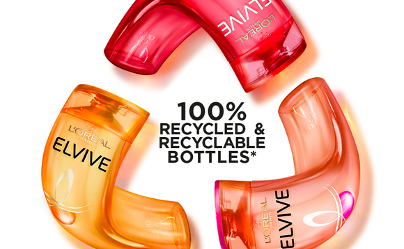 L'Oreal's latest advertising campaign emphasises the importance of recycling