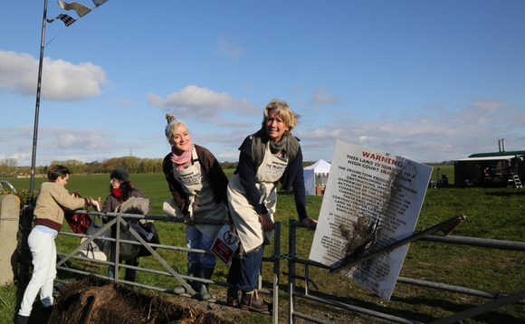 Greenpeace to film 'Frack Free Bake Off' in latest protest at potential shale gas site