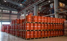 A total lubricants manufacturing facility in Tuas, Singapore. Credit: Total