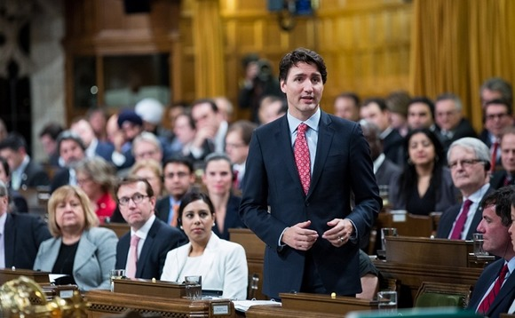 Trudeau commits $6.75bn to Canadian green projects in first budget