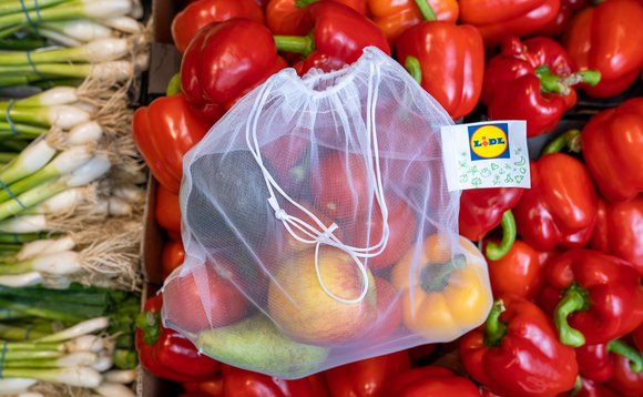 The reusable bags are priced at 69p each | Credit: Lidl