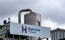 The Highview cryogenic energy storage facility near Manchester