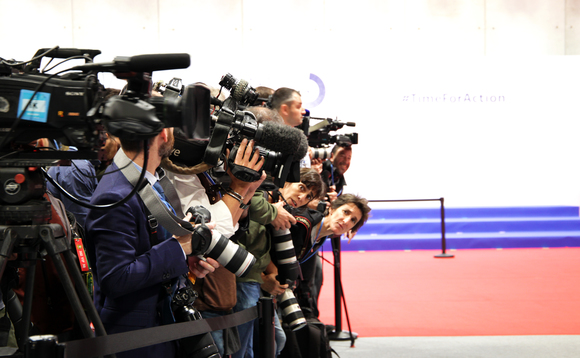 Media gather at the COP25 talks in Madrid | Credit: UN Climate Change