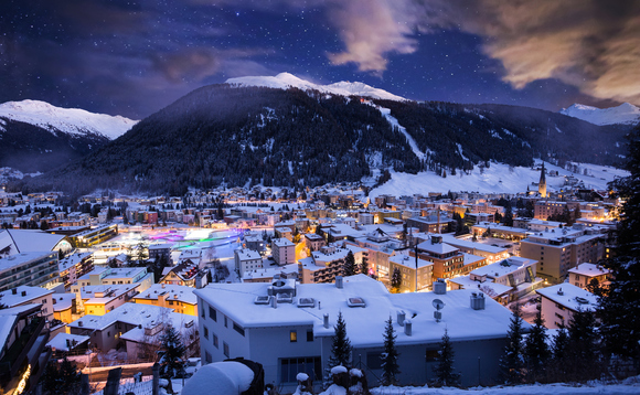 The results were announced at the World Economic Forum in Davos this morning