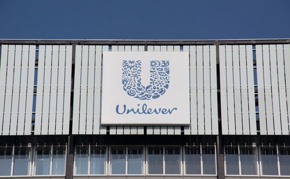 Unilever's operations across five continents are now supplied by clean power