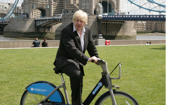 Boris Johnson was himself a keen cyclist during his time as London Mayor