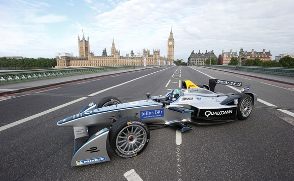 London gears up for all-electric Formula E racing series
