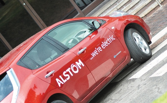 Alstom switches on to electric fleet