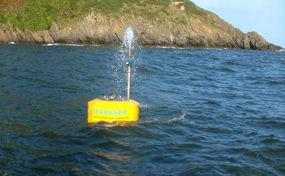 Ecotricity dips its toe into marine energy with innovative Searaser device