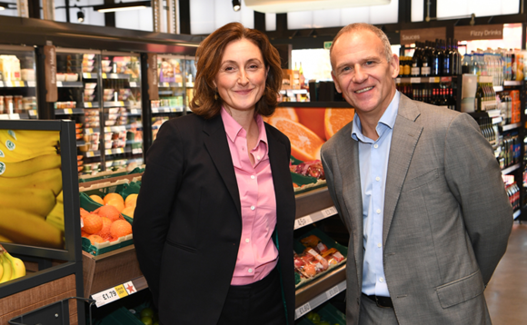 Tesco CEO Dave Lewis and WWF UK CEO Tanya Steele | Credit: Tesco