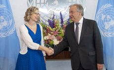 Inger Andersen officially sworn in as UN Environment Programme chief