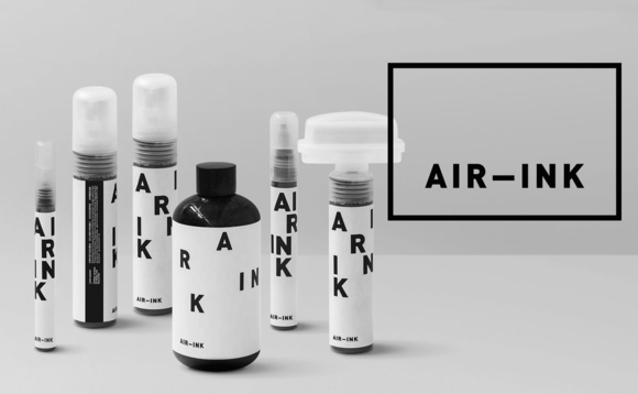 Air-Ink: World's first ink made from air pollution goes on sale