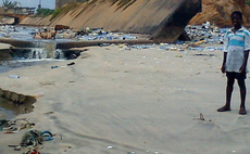 Poo power could clean up Accra's acrid beaches