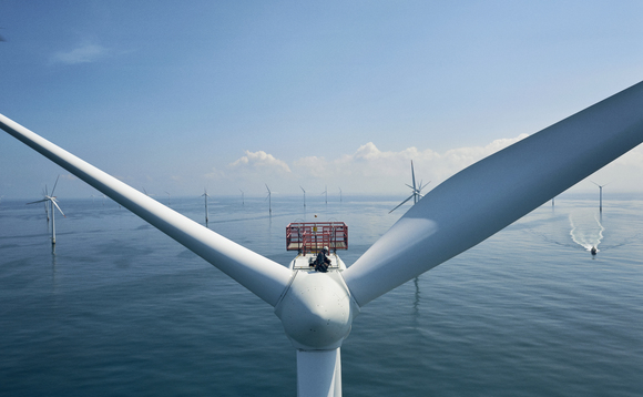 Vattenfall's Horns Rev 3 wind farm in the North Sea | Credit: Vattenfall