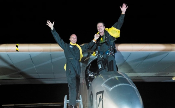 Solar Impulse plane completes record-breaking US flight