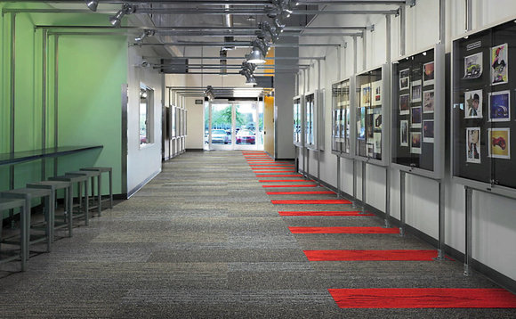 Interface claims to have developed the world's first carbon negative carpet | Credit: Interface