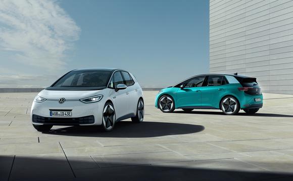 The new ID.3 electric car is set to launch this summer | Credit: Volkswagen