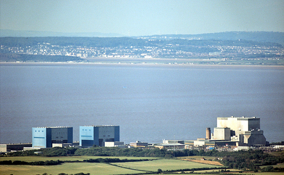 UK's Hinkley nuclear power station in Somerset