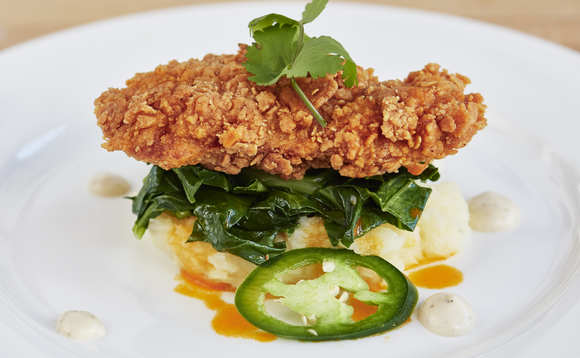 Southern fried chicken from Memphis Meats | Credit: Memphis Meats