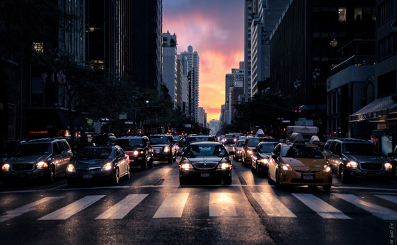 New York traffic | Credit: Malinda Rathnayake