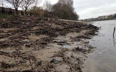 'Frankenstein foreshore': Wet wipes are reshaping Thames riverbank, study reveals