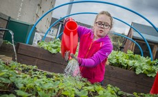 A community garden project in Shettleston, Glasgow has benefited from National Lottery Community Fund funding | Credit: NLCF